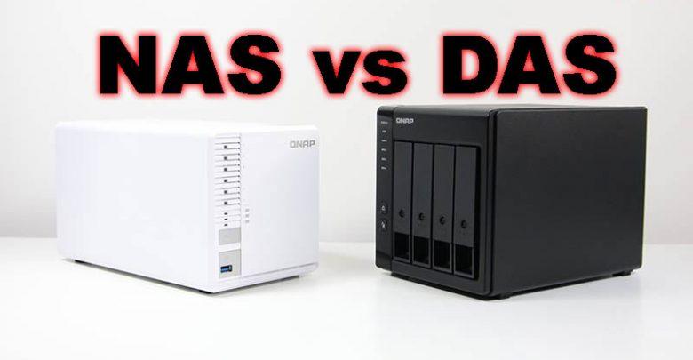 Photo of NAS vs DAS: comparativa, funciones, hardware y características