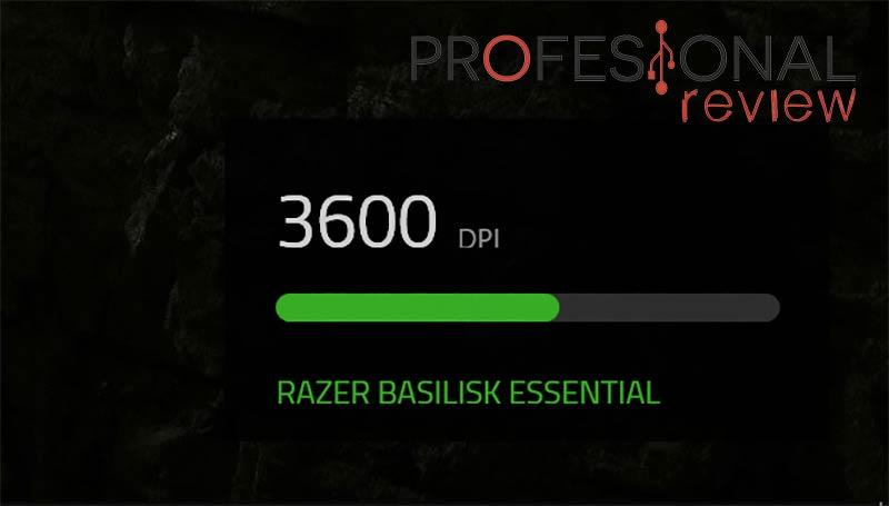 Razer Basilisk Essential DPI