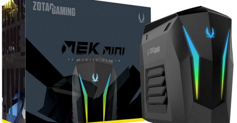 Photo of ZOTAC lanza el mini-PC MEK MINI con tarjeta gráfica RTX 2070