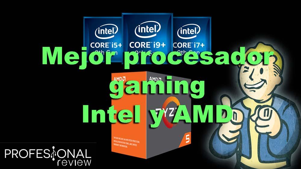 Mejor procesador gaming