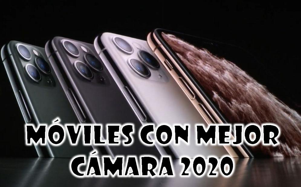 móviles con mejor cámara 2020