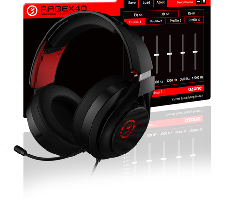 Photo of Ozone presenta sus auriculares Rage X40