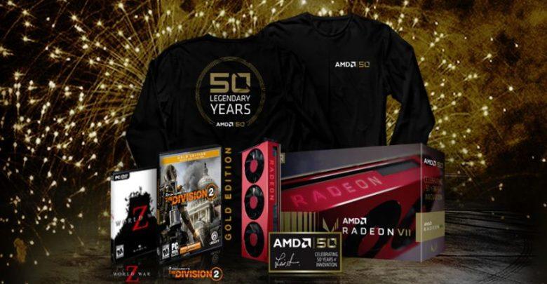 Photo of AMD anuncia oficialmente el Radeon VII y Ryzen 7 2700X Gold Edition