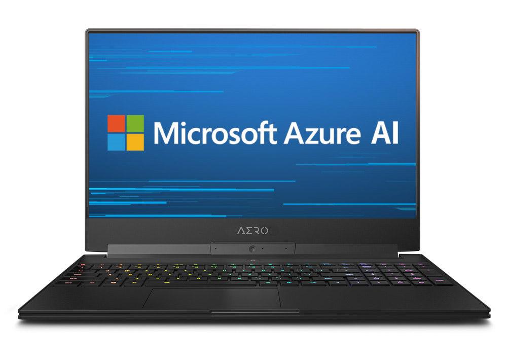 AORUS 15 Microsoft Azure AI