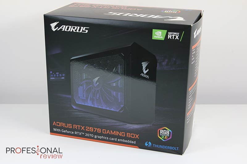 AORUS RTX 2070 Gaming Box Review