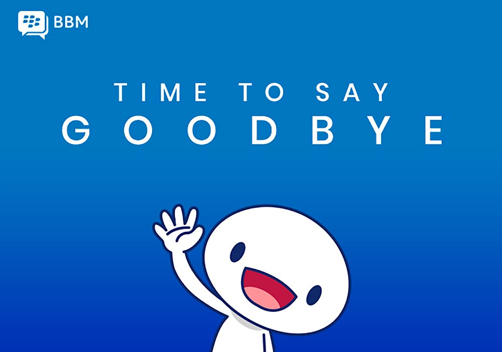 BlackBerry Messenger dice adiós para siempre