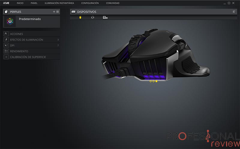 Corsair GLAIVE RGB Pro iCUE