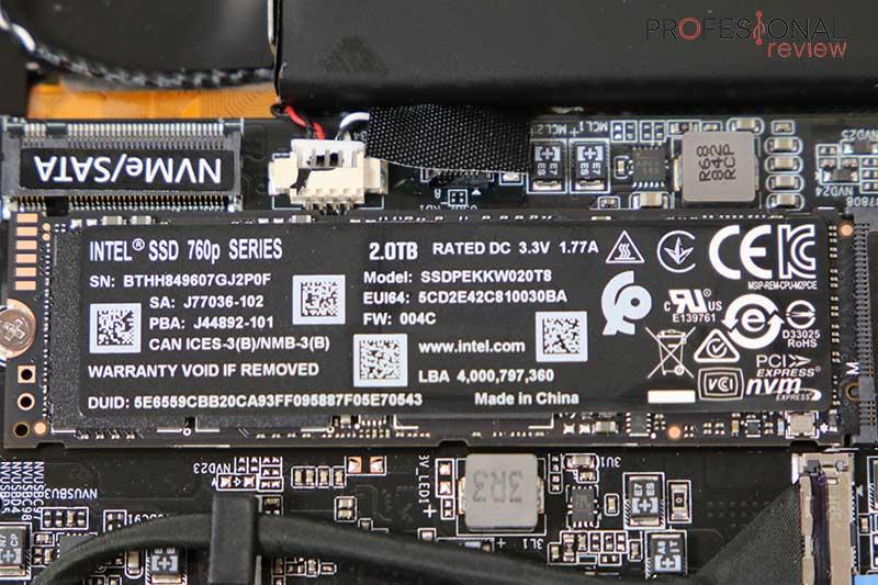 Gigabyte AERO 15-Y9 SSD