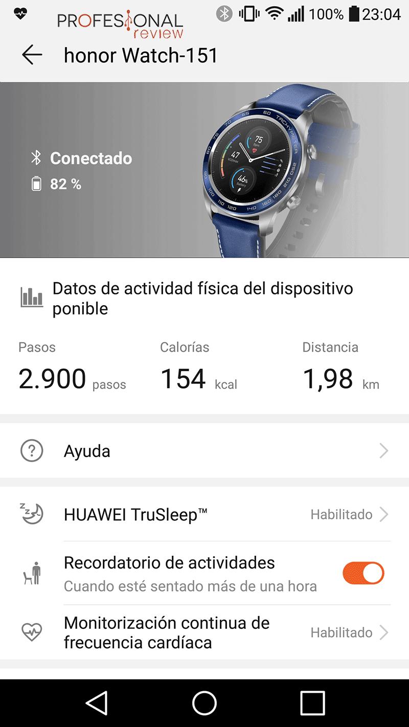 Honor Watch Magic vatería