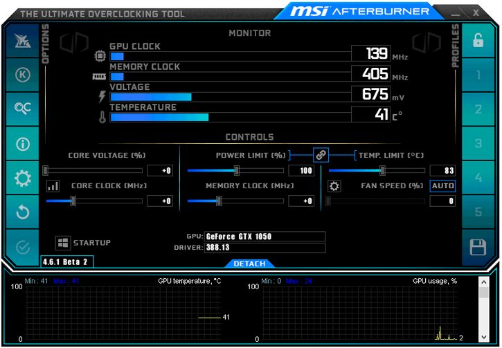 MSI Afterburner 4.6.1 Beta 2