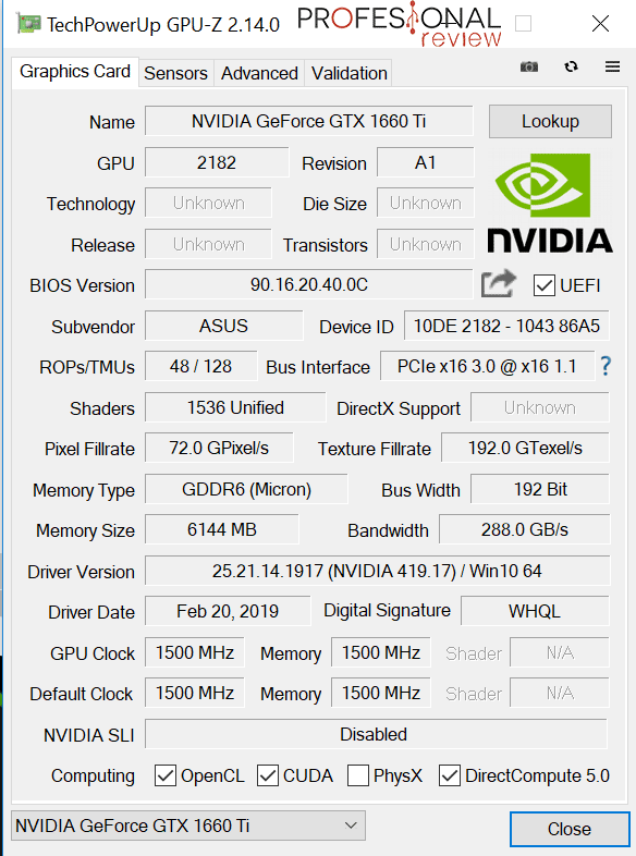 Nvidia PC gaming recomendado
