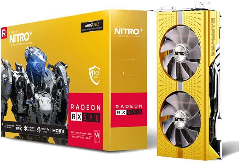 RX 590 Nitro+ 50th Anniversary Edition