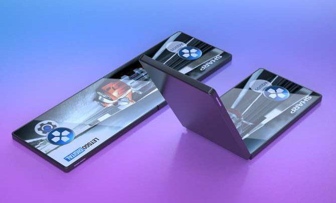 Photo of Sharp muestra su smartphone plegable en vídeo