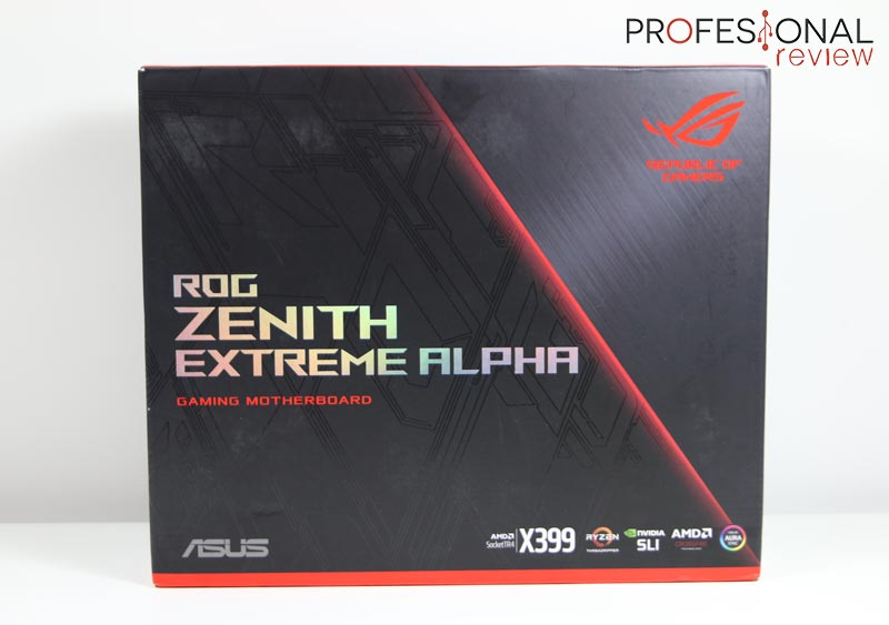 Asus ROG Zenith Extreme Alpha review