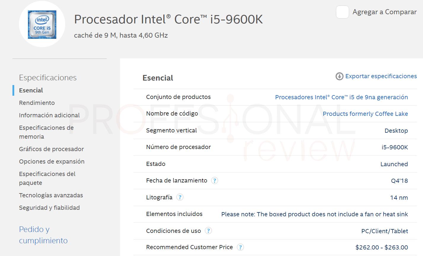 Cambiar procesador PC modelo