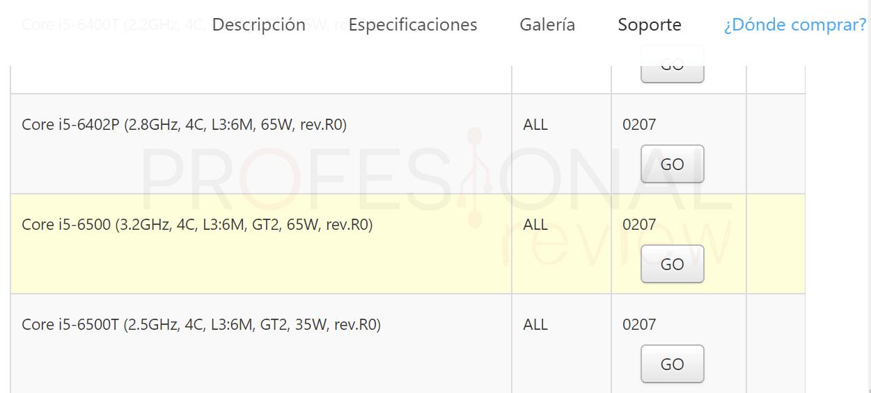 Cambiar procesador PC procesador compatible