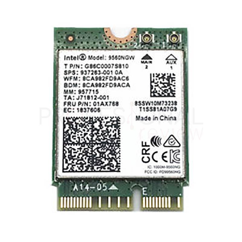 Características de la placa base Intel CNVi