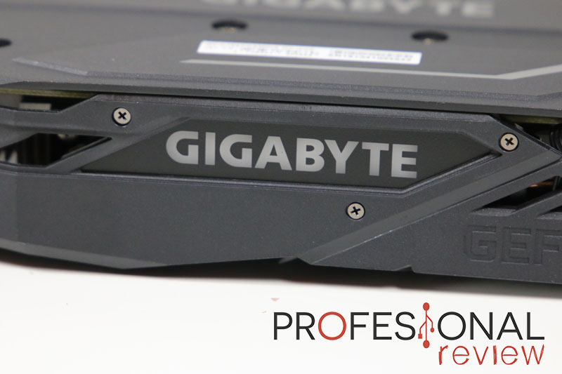 Gigabyte GeForce GTX 1650 Gaming OC 4G iluminación