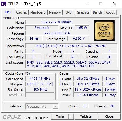 Memoria caché L1, L2 y L3 CPU-Z