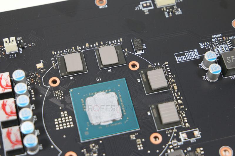 MSI GeForce GTX 1650 gaming X pcb