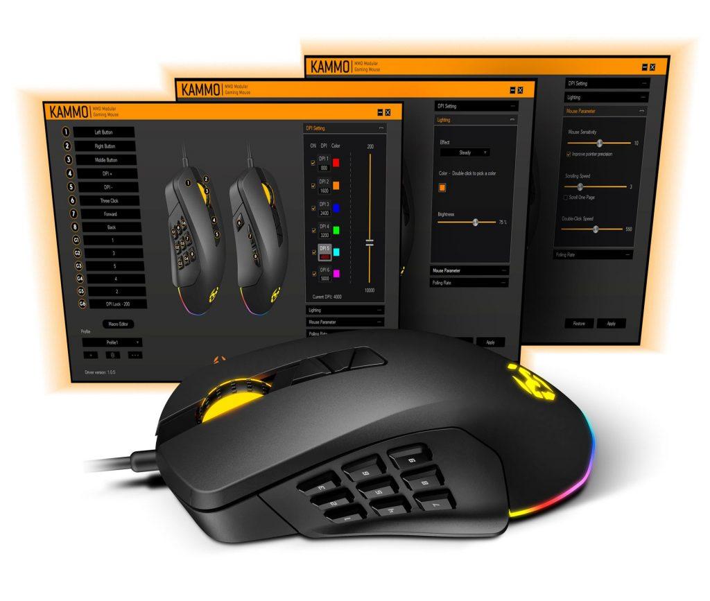 Configuración ratones gaming