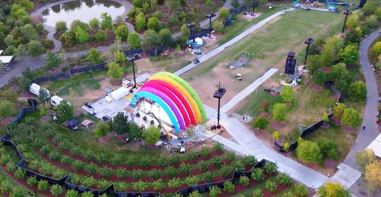 Photo of ¿Qué hace un arcoíris en el Apple Park?