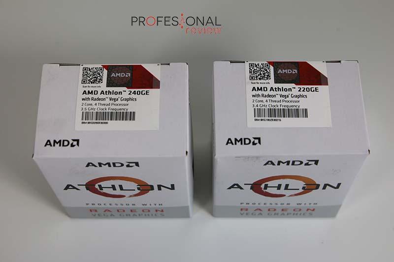 AMD Athlon 240GE y AMD Athlon 220GE
