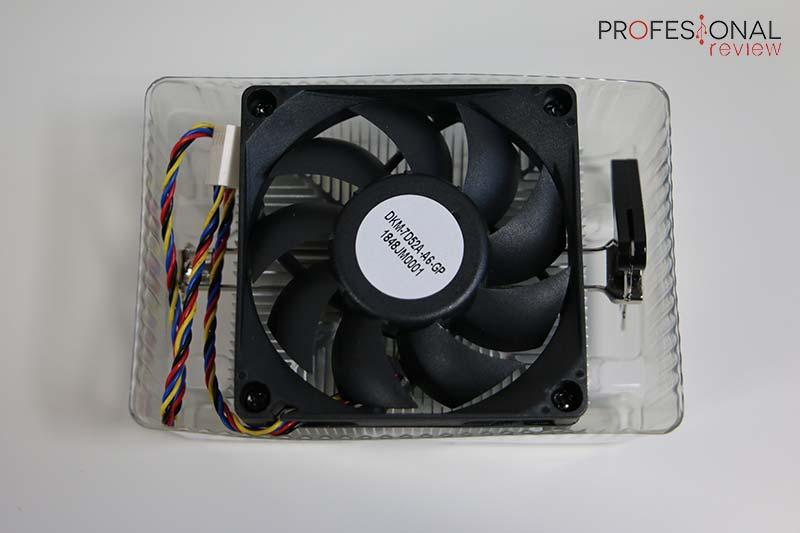 AMD Athlon 240GE y AMD Athlon 220GE disipador