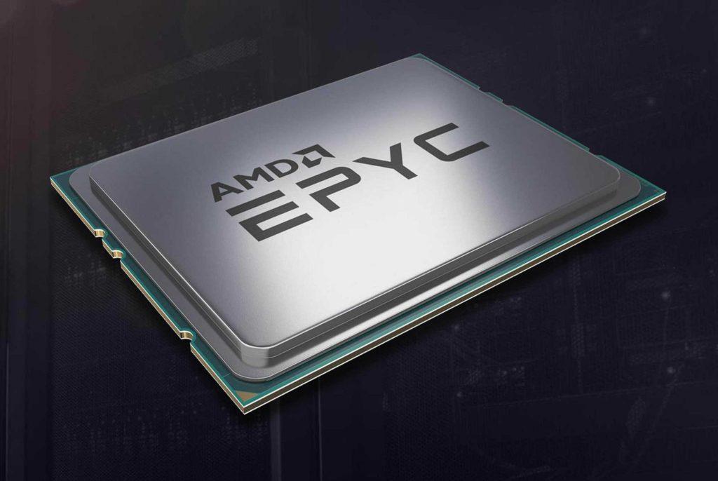 Procesadores AMD Epyc Rome