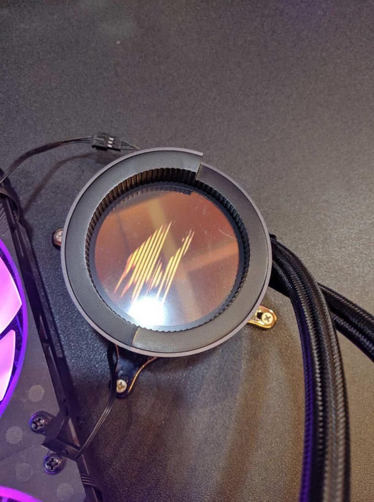 Bomba y pantalla LED