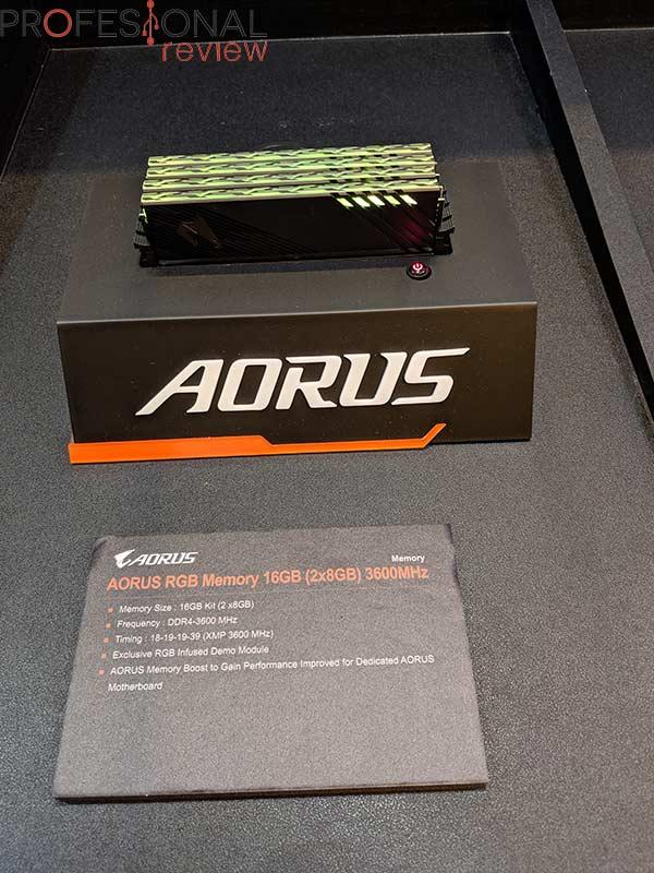 AORUS RGB Memory 16 GB 3600 MHz
