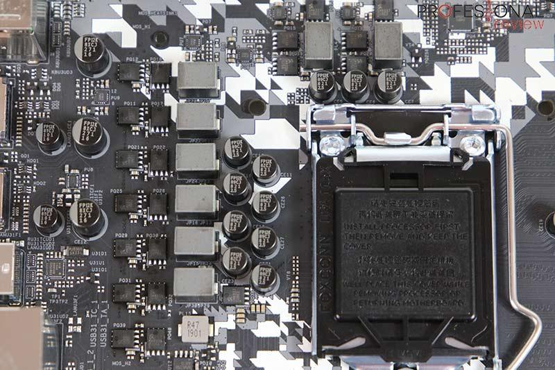 ASRock Z390 Steel Legend VRM