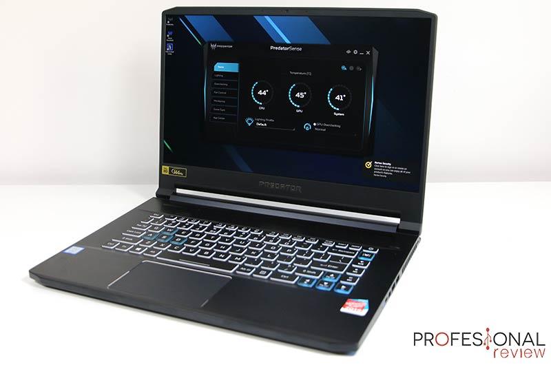 Acer Predator Triton 500 software