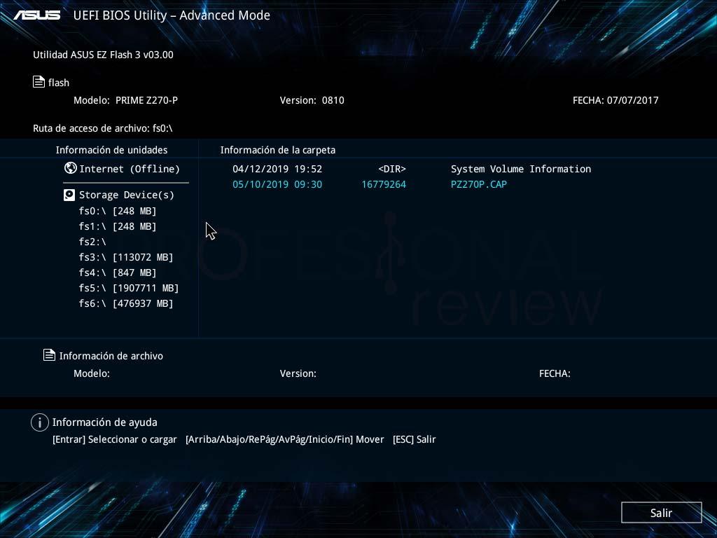 Cómo actualizar BIOS Asus paso a paso