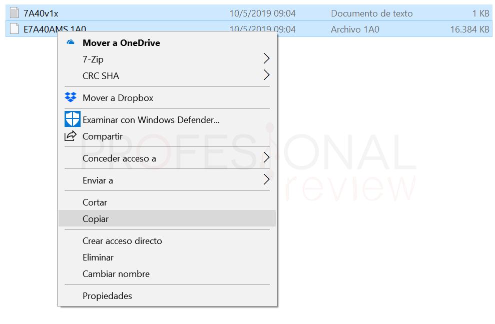 Actualizar BIOS MSI paso03