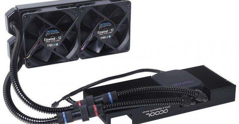Photo of Alphacool presenta el refrigerador liquido Eiswolf GPX Pro para Radeon VII