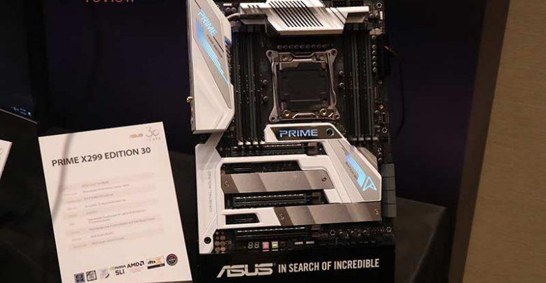 Photo of Nueva placa Asus Prime X299 Deluxe 30th Anniversary, conmemoración de alto nivel