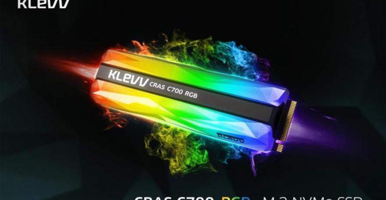 Photo of KLEVV presenta su unidad SSD CRAS C700 RGB con iluminación total