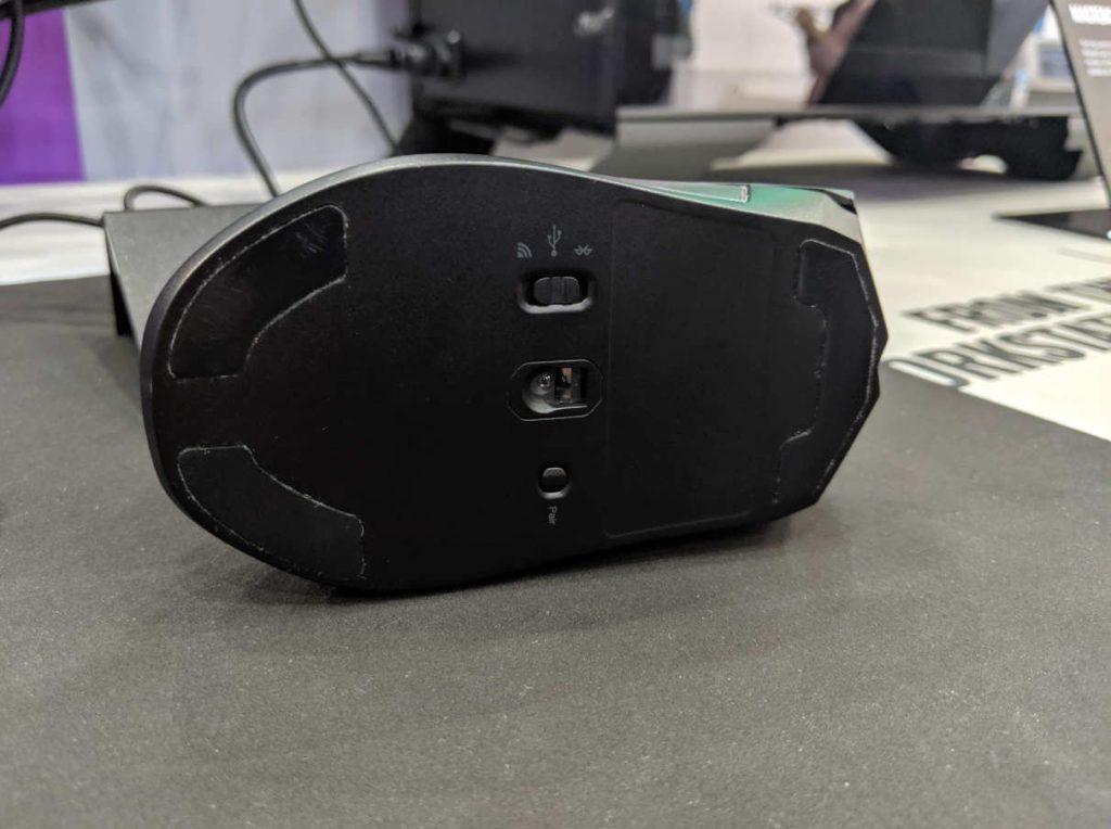 Sensor y modos del ratón