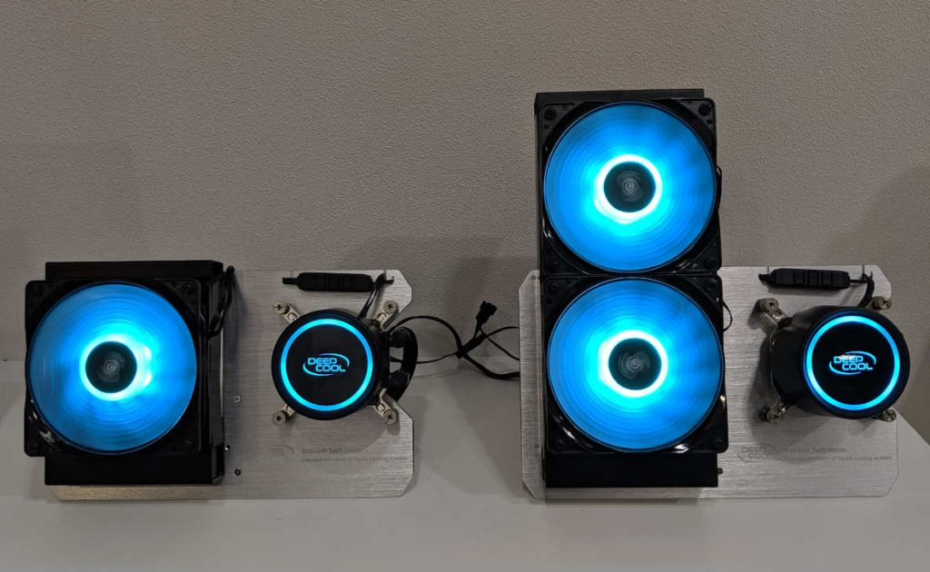 DeepCool GAMMAXX L120 y L240 V2