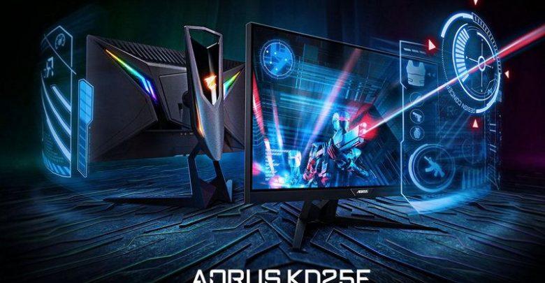 Photo of Gigabyte anuncia el monitor 'táctico' AORUS KD25F