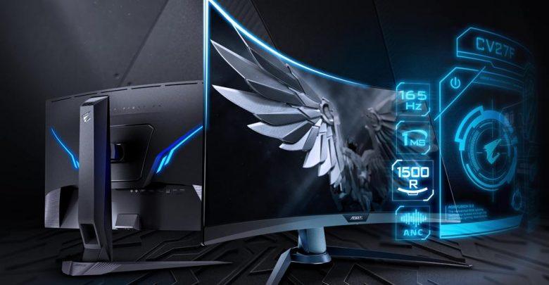 Photo of Gigabyte sorprende con su monitor curvo AORUS CV27F