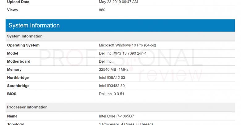 Photo of Se filtra un benchmark del Intel Core i7-1065G7 de 10ª generación