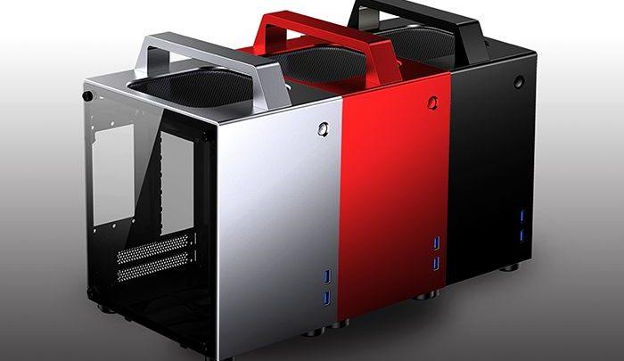 Photo of Jonsbo T8, el chasis Mini-ITX más que transportable con manija
