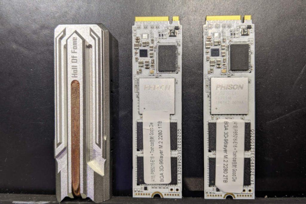 Estructura GALAX/KFA2 HOF E16 SSD M.2