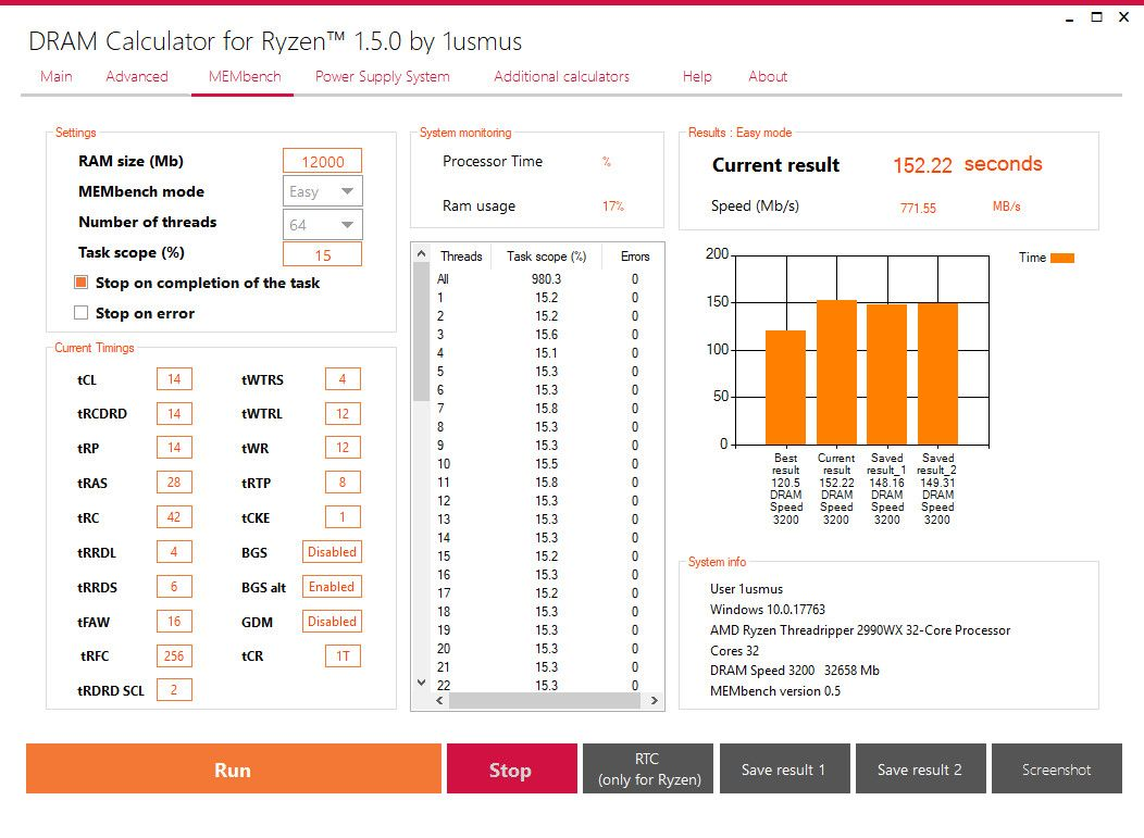 DRAM Calculator for Ryzen