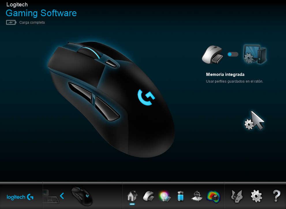 Configuración del ratón