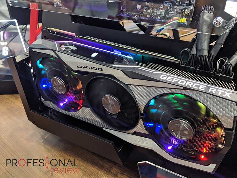 MSI RTX 2080 Ti Lightning 10 Anniversary
