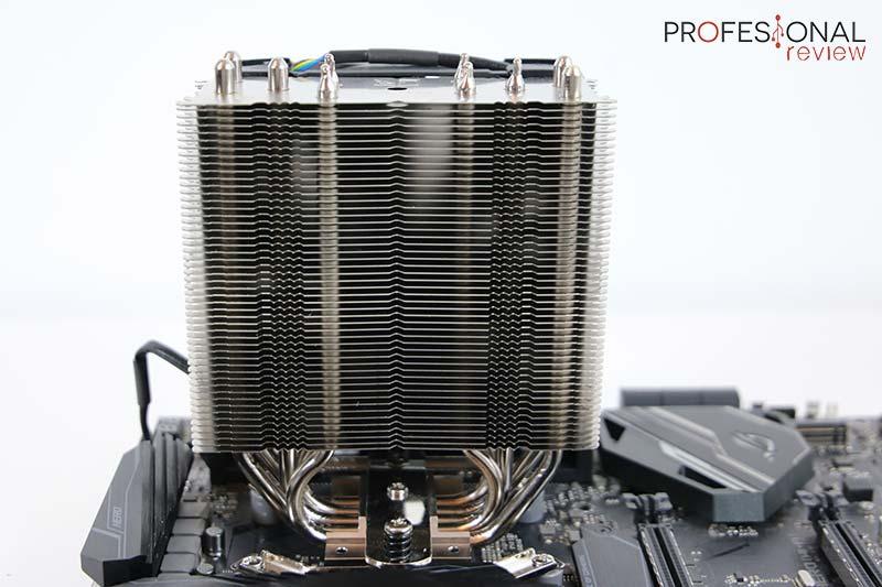 Partes de un procesador disipador
