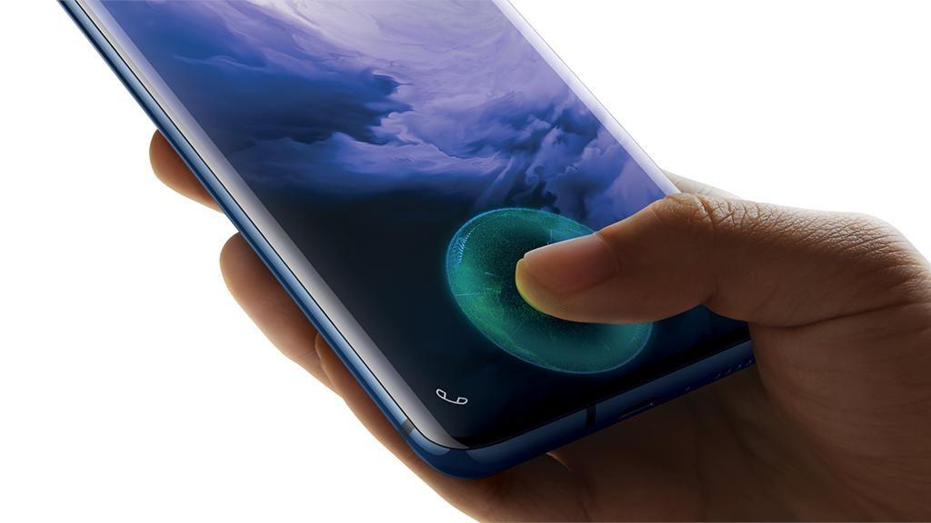 OnePlus 7 Pro sensor de huellas